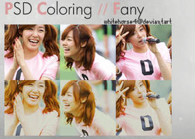 PSD Icon Coloring Fany