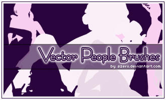 Vector People brushes by szerii
