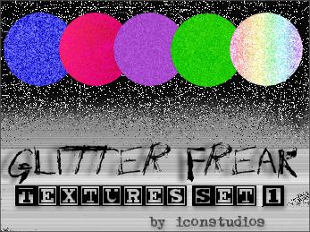 Glitter Freak Set 1 by iconstudios
