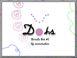 Dots Brush Set 1 by iconstudios