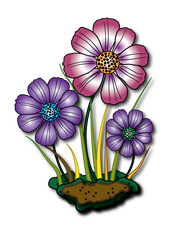 Flowers by FractalBee