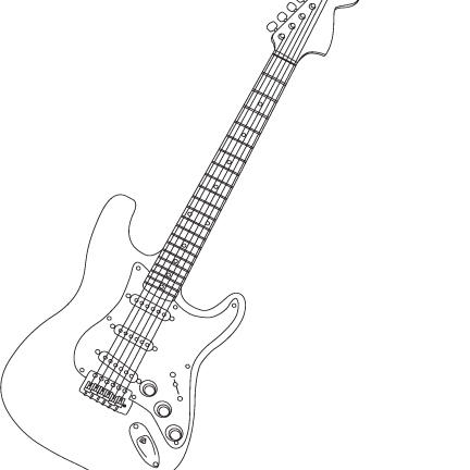 electric guitar drawing  electric  free engine image for