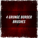 Grunge Border Brushes
