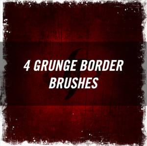 Grunge Border Brushes