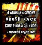 SECRET SET GRUNGE BRUSHES