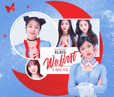 [ELRIS - WE FIRST] PNG PACK #16