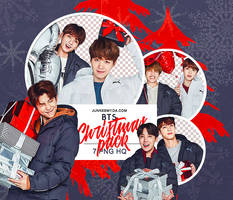 [BTS - CHRISTMAS PACK] PNG PACK #18