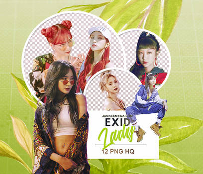 EXID {LADY} PNG PACK 01-18