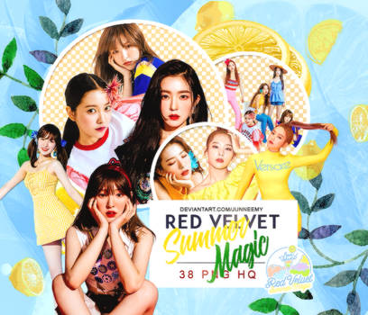[UPDATE] RED VELVET {SUMMER MAGIC} PNG PACK 03-18 by Junneemy