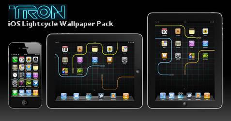 Tron iOS Wallpaper Pack