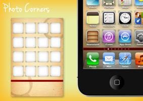 Photo Corners - iPhone Wallpaper by deebeeArt