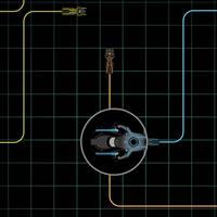 Tron iPad Retina Wallpaper by deebeeArt