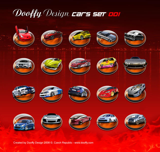 CAR Set 001 by Dooffy-Design