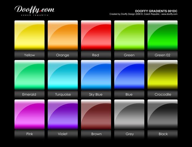 Dooffy gradients set001DC