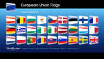 FREE: European Union flags