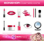 BONSHOP free cosmetic icons by DOOFFY Design