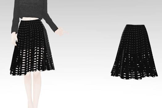Grid Skirt DL