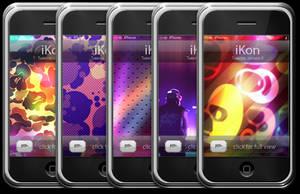 iKon iPhone Wallies by kon