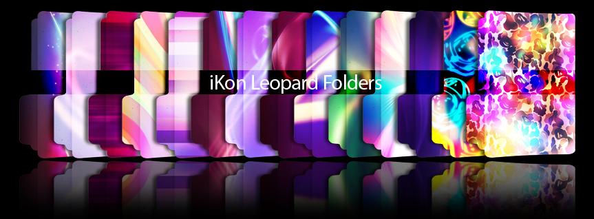 iKon Leopard Folders