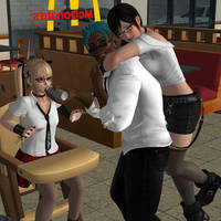 0083 Fast Food Pose Pack by PwN3Rship