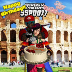 0844 happy Birthday and Valentines SSPD077 by PwN3Rship
