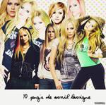 10 pn'gs Avril Lavigne by glambertemma