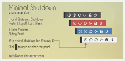 Minimal Shutdown by saifulkader