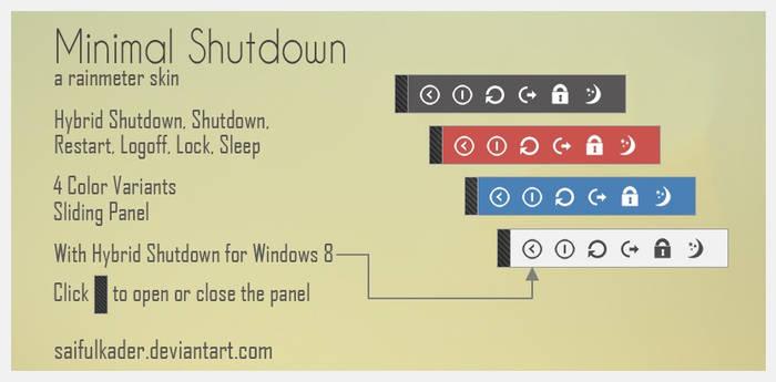 Minimal Shutdown