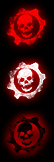 Windows 7 Orb Gears of War Logo by ZapTeaM