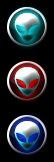 Windows 7 Orb Alien Logo by ZapTeaM