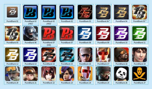 Icones PointBlank [.ICO]