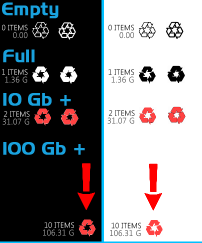 Clean Simple Recycler by TriggerSpasm