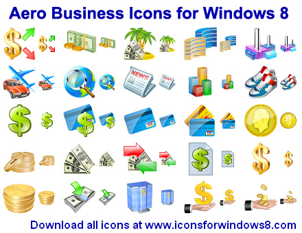 Aero Business Icons for Wi...