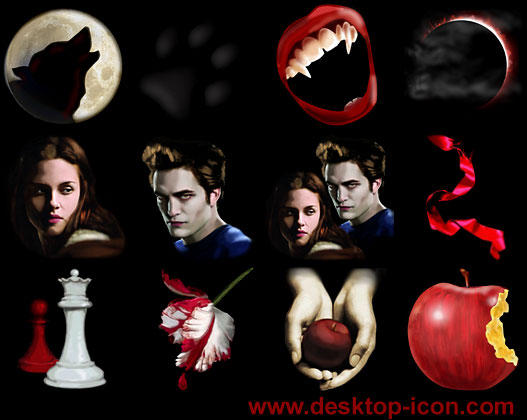 Free Twilight Desktop Icons by ~yourmailkept on deviantART