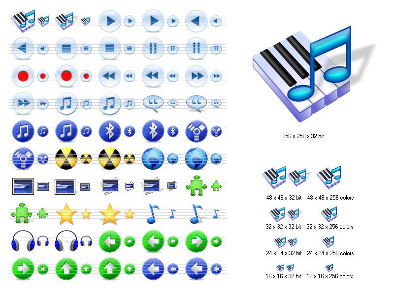 Multimedia Icons for Vista by yourmailkept