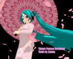 [MMD] Sakura Parasol +DL