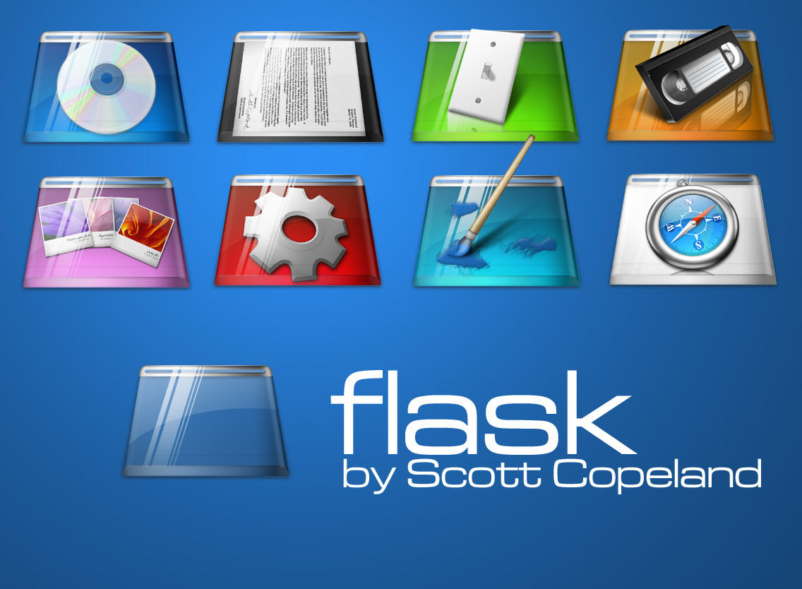 Flask Icons by apathae
