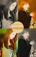 Coloring PSD K-POP 6 by jessica2204