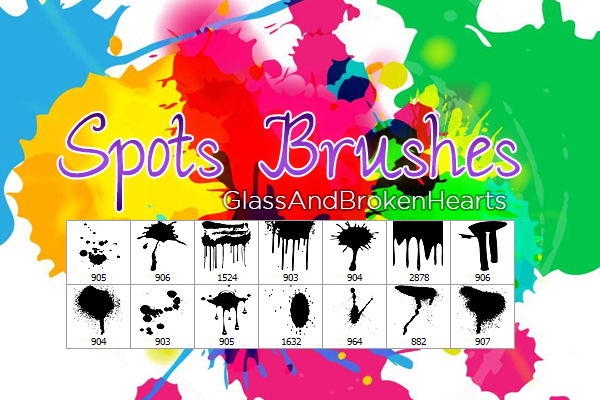 +Spots Brushes