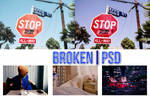 Broken PSD