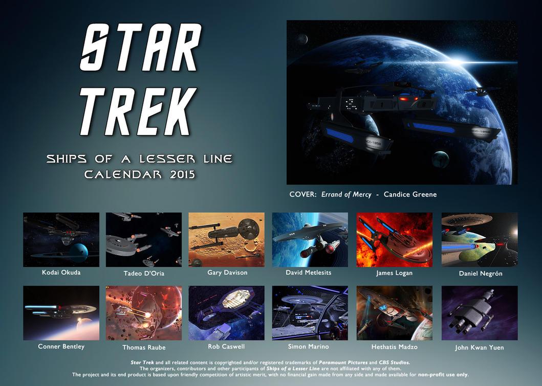 Ships of a Lesser Line calendar 2015 by thefirstfleet