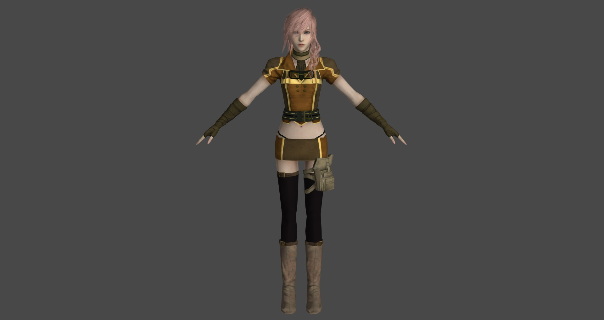 Final Fantasy XIII-3 Lightning Returns - Outfit