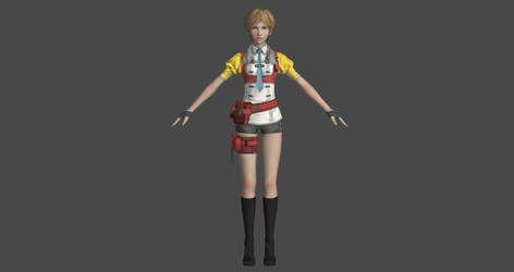 Final Fantasy XIII-2 - Alyssa