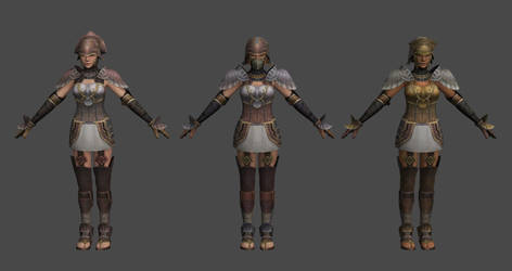 The Last Remnant - Female Soldier Pack