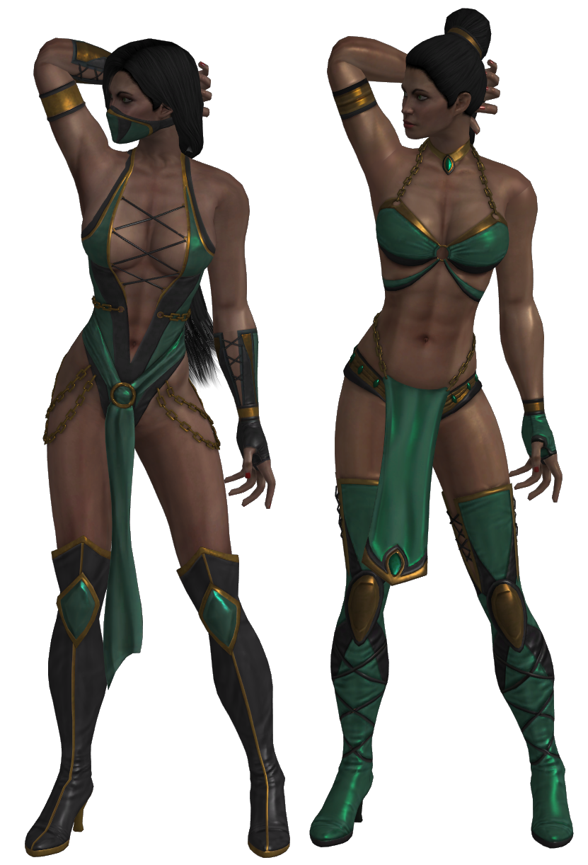 Mortal Kombat - Jade pack XNAlara by MKiss333 on DeviantArt