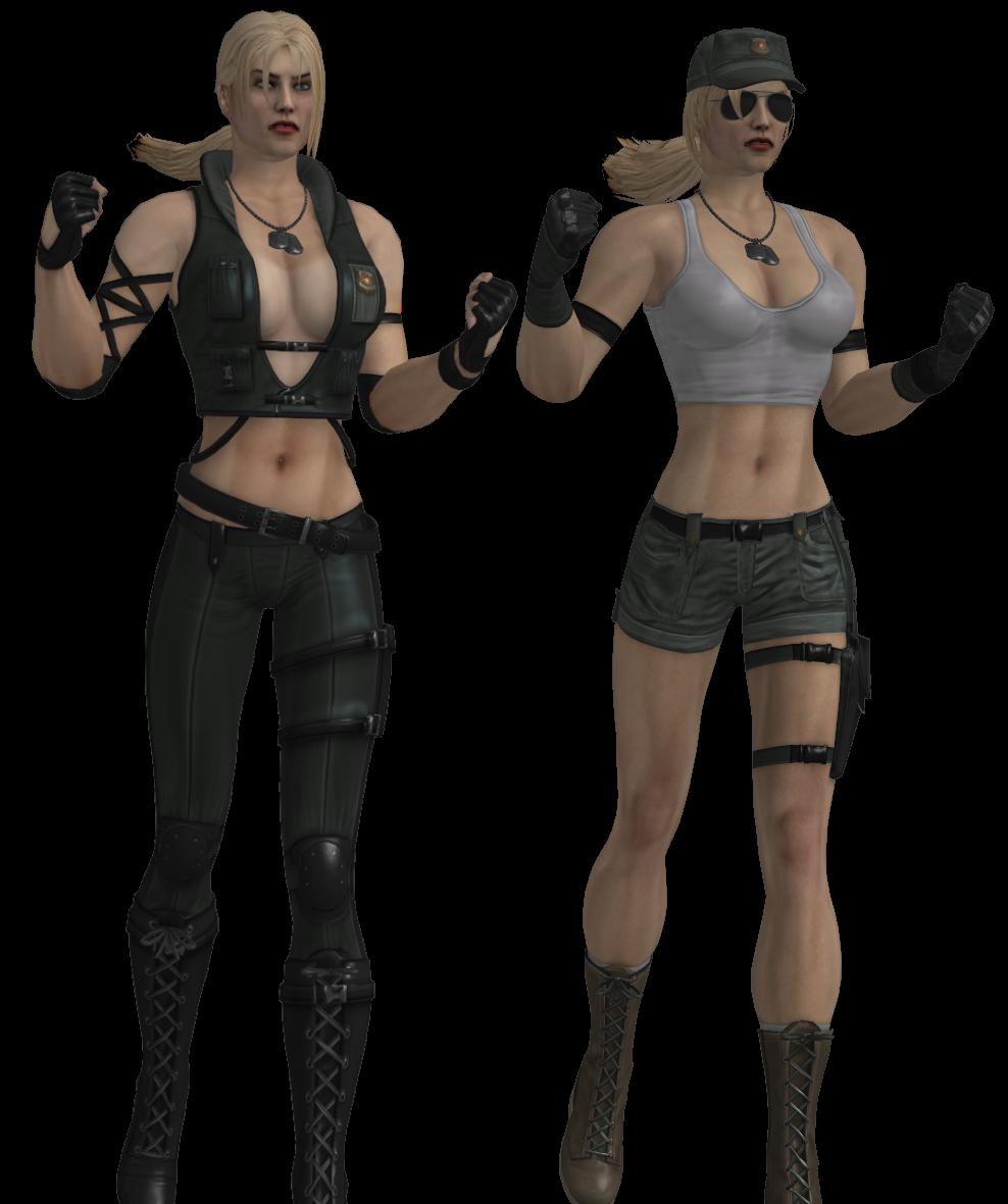 Mortal kombat 9 sonya blade nude costume erotic pic
