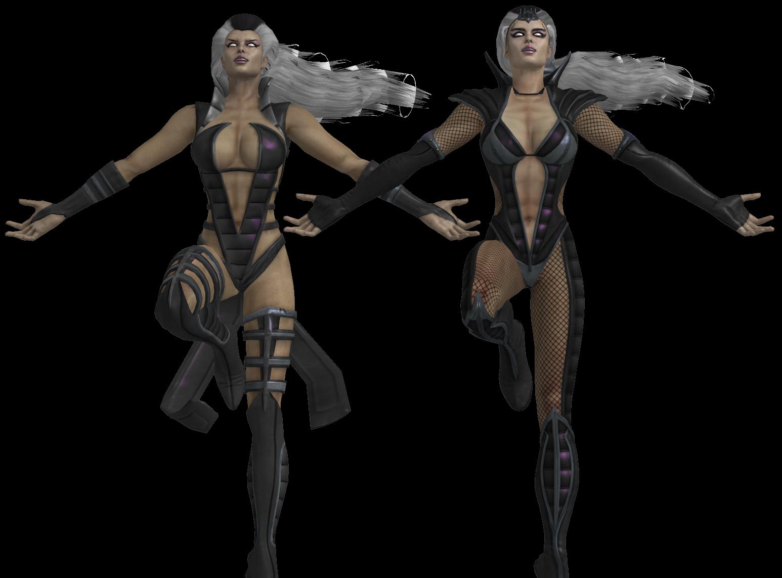 Mortal Kombat Sindel Pack Xnalara By Mkiss333 On Deviantart