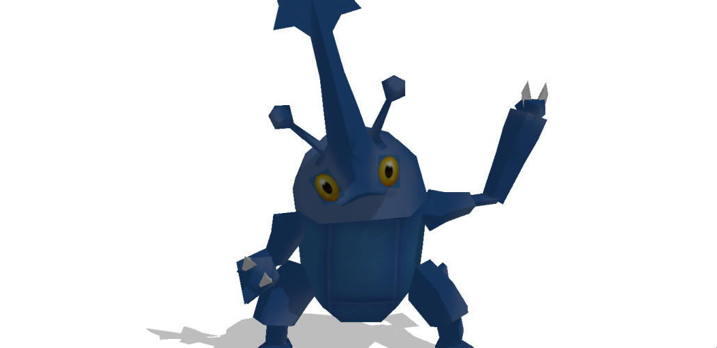 MMD Newcomer Classic Heracross +DL