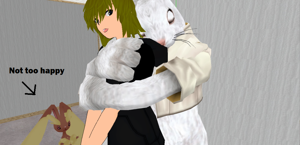3d mmd bunny alice loves to squat 2