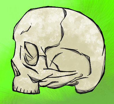 Skull by FaultlineX
